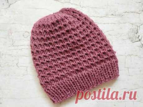 Тепло и красиво. Вяжем шапку спицами на осень » «Хомяк55» - всё о вязании спицами и крючком