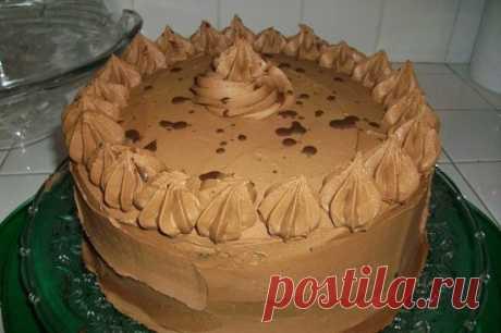 Кофейный крем для тортов