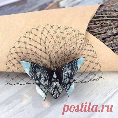 Бабочки из ткани в технике оригами / Здоровый Интерес