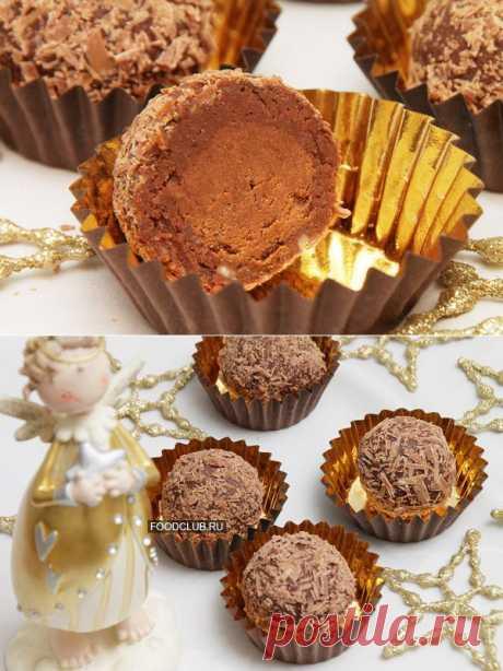 Шоколадные конфеты с начинкой — рецепт с пошаговыми фото. Foodclub.ru