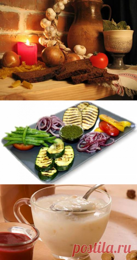 Правильное питание в пятую неделю Великого поста / Простые рецепты
