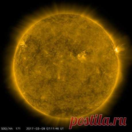 Солнечная активность 09 / Astro Analytics