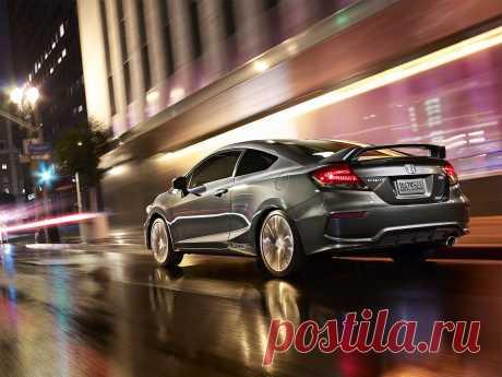 Honda Civic Si Coupe- премьера автосалона в Лас-Вегасе 05.11.2013