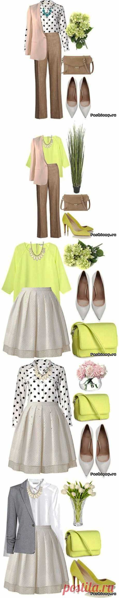 (+1) тема - Базовый гардероб на весну | Мода
