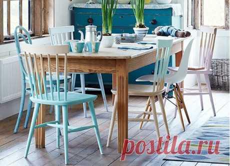 Как идеально перекрасить старый лакированный стул своими руками — 5 важных нюансов! | ДОМ ЯРКИХ ИДЕЙ | Яндекс Дзен