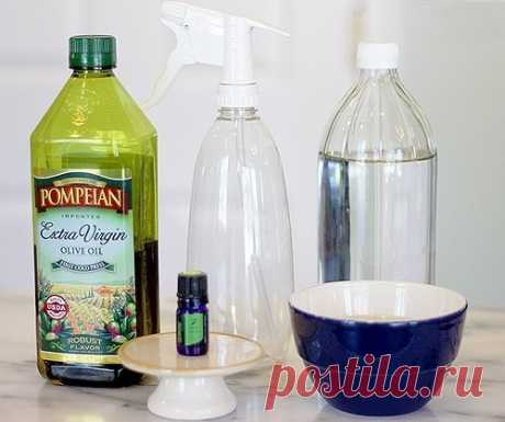Самодельный цитрусовый спрей от пыли — Полезные советы