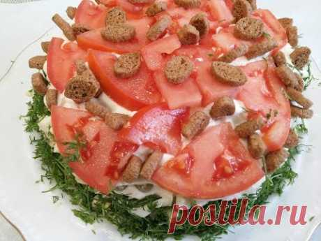 "Салат ""ЗА 20 МИНУТ ДО НОВОГО ГОДА "".Обожаем этот салат готовим на все праздники.Salad with potatoes - YouTube"