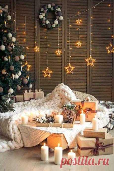 Креативный новогодний декор – Новогодний декор своими руками: 125+ идей украшения дома