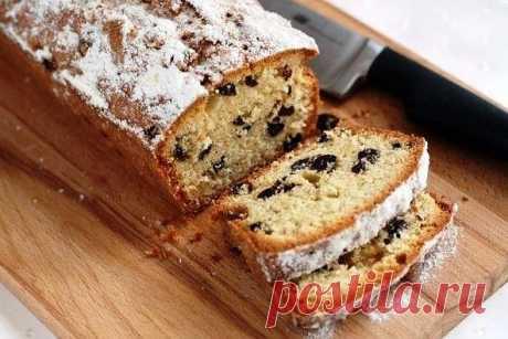 Как приготовить кекс с изюмом - рецепт, ингредиенты и фотографии