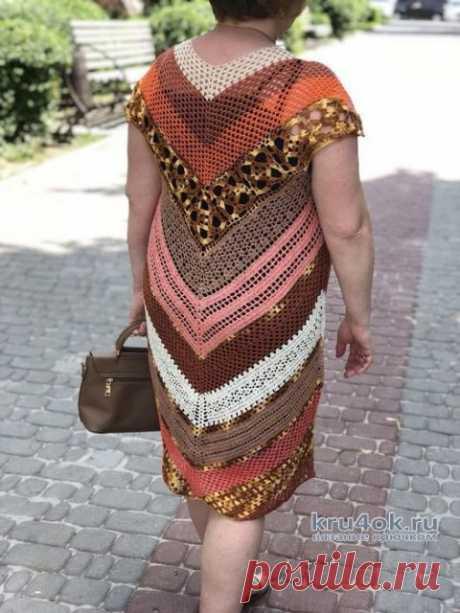 Платье Seaside Dress от Moon Eldridge, описание и схемы вязания