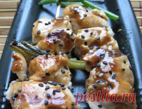 Якитори – кулинарный рецепт