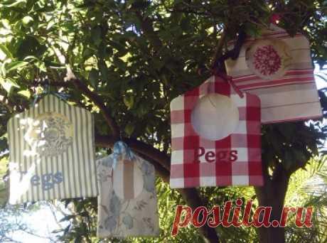 сумка для прищепок - Самое интересное в блогах