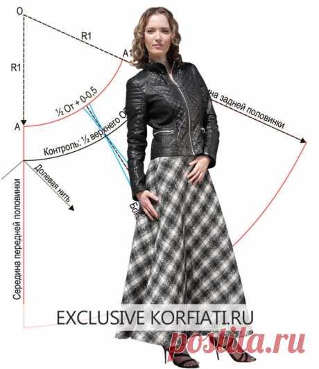 Мастер-класс по шитью юбки колокол