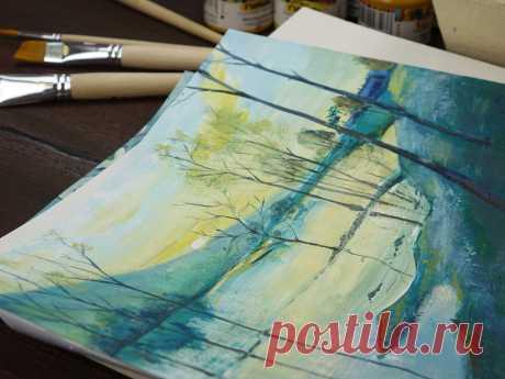 Подборка потрясающих уроков по живописи гуашью. 4 видео | Творческая студия TAIR | Яндекс Дзен