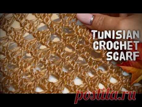 Вяжем шарф за 2 часа крючком! 🍁 Эксклюзивная техника вязания от Nataly Masters