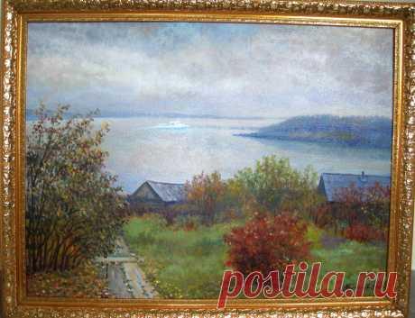 """Осень""А.Костылев. Холст, масло."