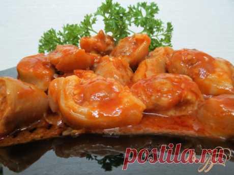 Свиные хвостики в остром соусе - пошаговый рецепт с фото