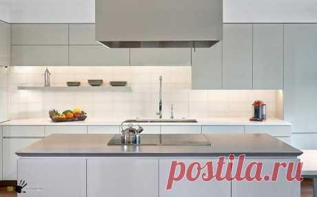 Дизайн кухни в стиле хай-тек Идеи как правильно сделать дизайн кухни в стиле хай-тек в 2017 году: дизайн-проект, интерьер, ремонт, мебель, освещение и декор. Фото и советы экспертов на The Architect