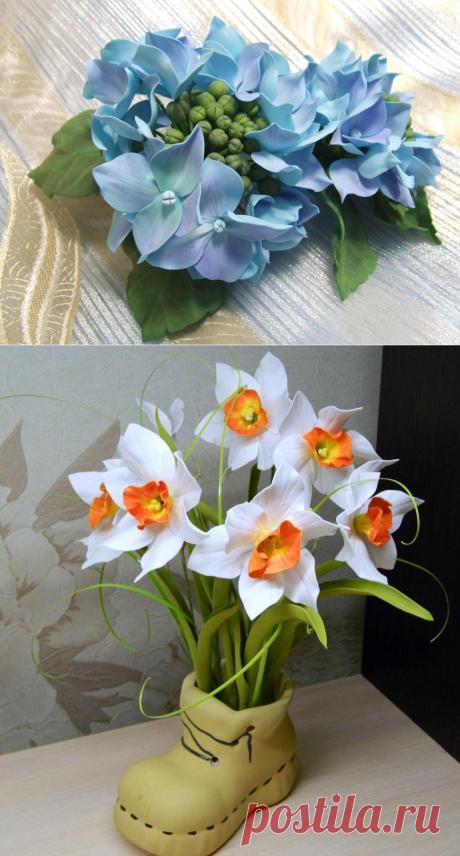 Las flores de foamirana