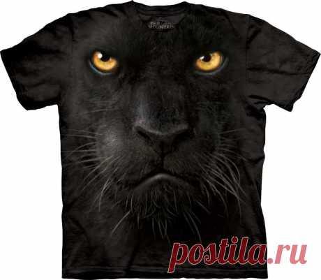 Арт № 103246 Футболка  3D The Mountain Classic - Black Panther Face Бесшовная футболка -варенка 100% хлопок Размеры Детские S, M, L,XL  +  Взрослые  S, M, L,XL, XXL, XXXL Рисунок нанесен красками на водной основе. Не выгорает, не тянется
