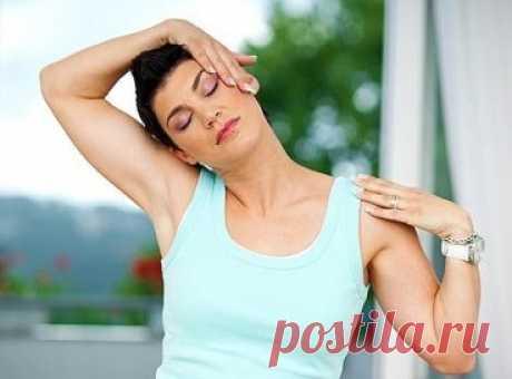 Полезные физические упражнения при головной боли