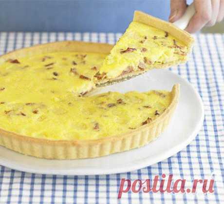 Лотарингский пирог - пошаговый кулинарный рецепт на Повар.ру