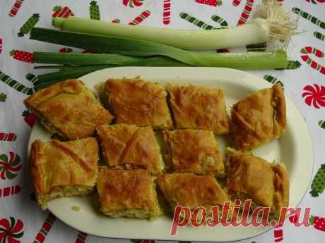 Прасопита - греческий вариант вкусного лукового пирога   DiDinfo   Яндекс Дзен