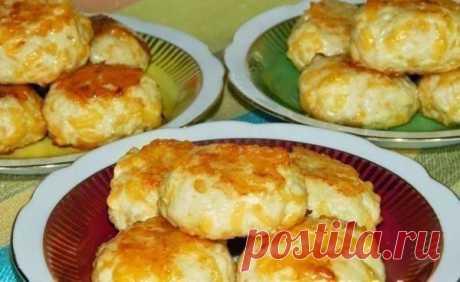 Куриные котлетки с сыром - в духовке   Подружки