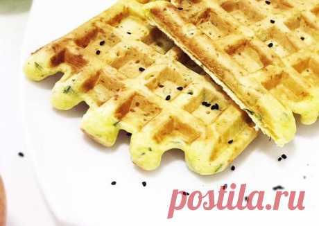 Сырные вафли Автор рецепта Uriya - Cookpad