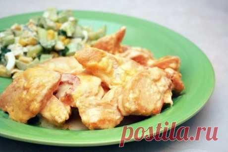 ПП-ужин: куриное филе в сырном соусе - Советы для тебя