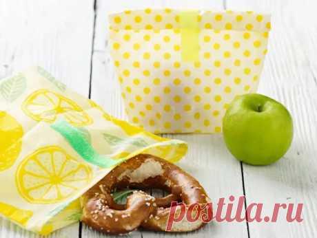 Вощеные мешочки для бутербродов своими руками - Сам себе мастер - медиаплатформа МирТесен