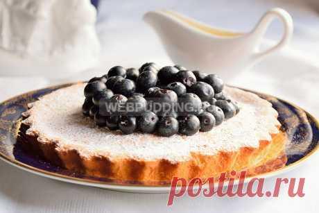 Французский пирог с апельсином   Webpudding.ru