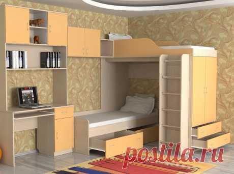 Детские двухъярусные кровати: виды, материалы изготовления, дизайн (76 фото) - cozyblog - медиаплатформа МирТесен