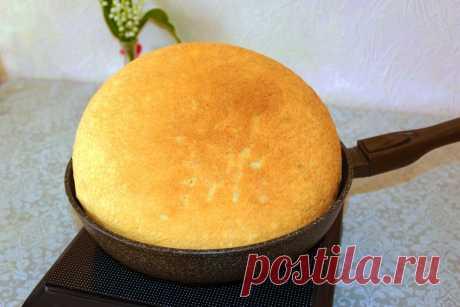 Научилась готовить воздушный и очень вкусный хлеб в сковородке на плите: никто не верит, что я пеку его не в духовке | Мастерская идей | Яндекс Дзен