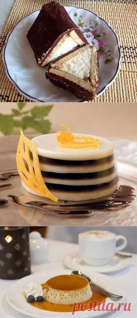 Десерты | Рецепты вкусных и полезных блюд! 3dorov.ru