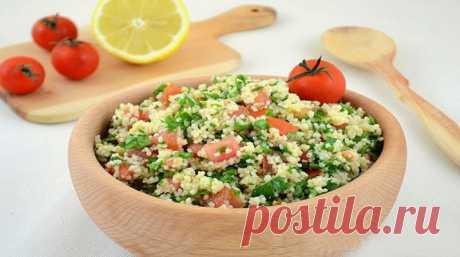 Салат «Табуле» — рецепт классический