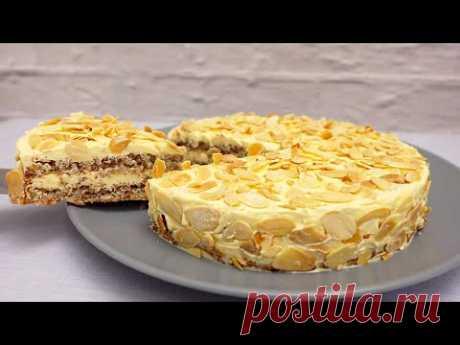 Миндальный Торт. Простой рецепт # 202