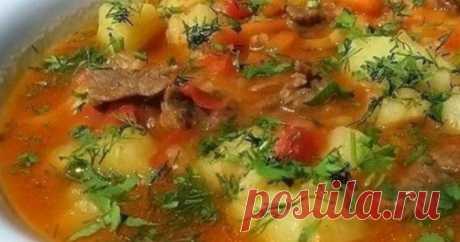 Шурпа — любимое блюдо к обеду Этот суп пришел к нам с Востока. Он прост в приготовлении и порадует вас и ваших близких своим насыщенным ярким вкусом  Ингредиенты: –Баранина шейка 0,5 кг –Лук репчатый 1 шт –Перец сладкий красный 1 …
