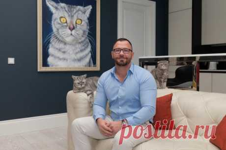 А сегодня дабл #Petzz Здесь живут очаровательные кот и кошка, которым хозяин квартиры написал по портрету — британец Дизель и шотландская вислоухая Изюмка. Чтобы посмотреть их домик – переходите по ссылке