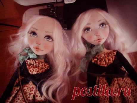 Мастер-класс : Простой способ сделать выразительное кукольное личико | Журнал Ярмарки Мастеров