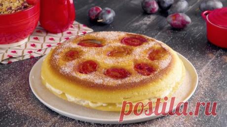 Пышные и нежные блины с фруктовой начинкой: вкуснейший десерт