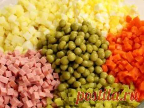 Как приготовить салат оливье для новогоднего застолья: 5 вариантов   Soveti o tom kak vse prosto sdelat
