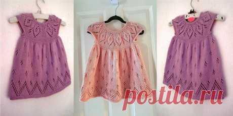 Нарядное платье для девочки Bethany - Вяжи.ру