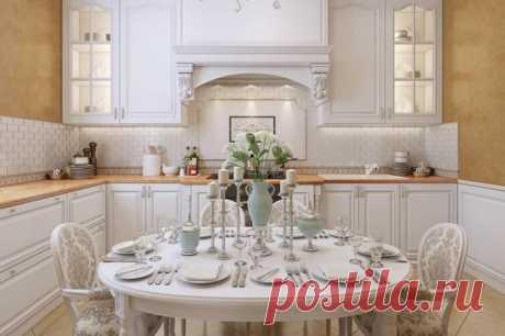 Белая кухня в интерьере: плюсы и минусы использования