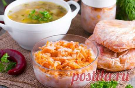 Заправка для супа на зиму - 11 простых рецептов