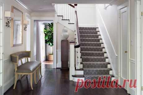 Монохромный интерьер с сочными акцентами в США - Дизайн интерьеров   Идеи вашего дома   Lodgers