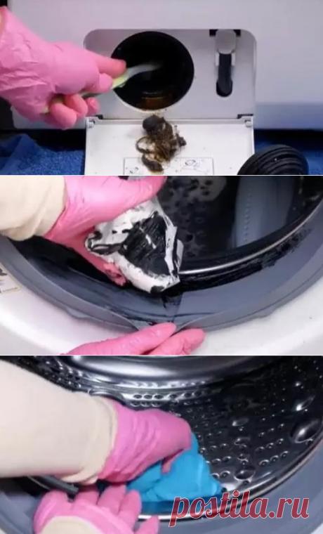 Жена сама «прокачала» стиральную машину, теперь она работает тише и вещи не пахнут