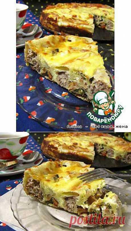 Воскресный пирог из лаваша - кулинарный рецепт