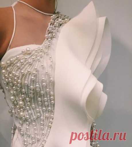 Декор нарядной одежды бусинами | Калейдоскоп Рукоделия