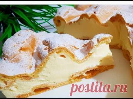 El pastel KARPATKA * ooochen sabroso y fácil en la preparación \/ Izmir Turquía